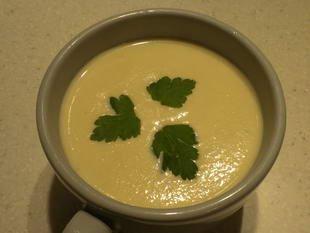 Sopa de apionabo y mostaza : Foto de la etapa26