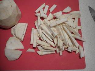 Sopa de apio : Foto de la etapa1