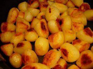 ¿Patatas asadas o puré asado?