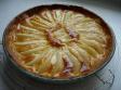 Tarta de peras con crema de almendras