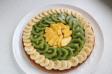 Tarta de frutas exóticas