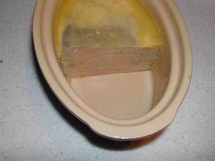 Calculador para foie-gras