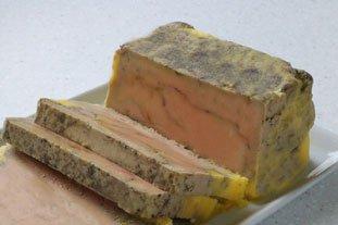 Foie gras casero en terrina