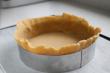 El peso adecuado de la masa para una tarta